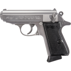 PISTOLET WALTHER PPK/S STAINLESS 9MM...