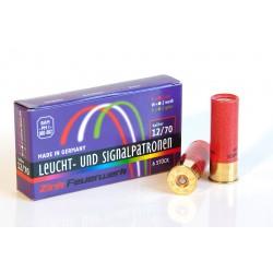 Boite de 6 cartouches calibre 12/70...