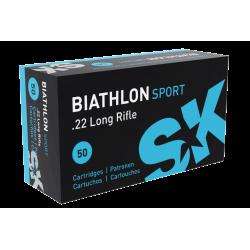 Cartouches cal.22lr - SK - BIATHLON...