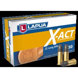 Cartouches cal.22lr - LAPUA - X ACT